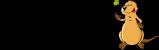 logo loutre noir